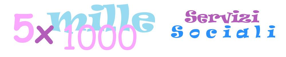 Logo 5x1000 ai servizi sociali